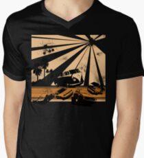VW Festival Mens V-Neck T-Shirt
