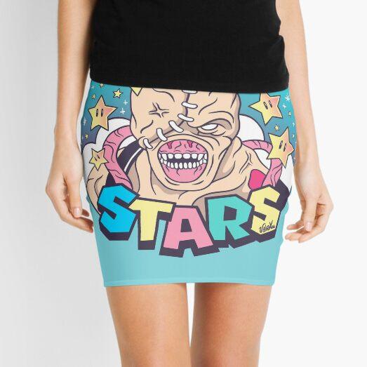 Nemesis - STARS Mini Skirt