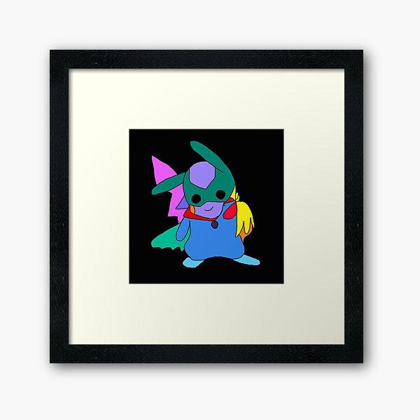 SMALL BADMEN Framed Art Print
