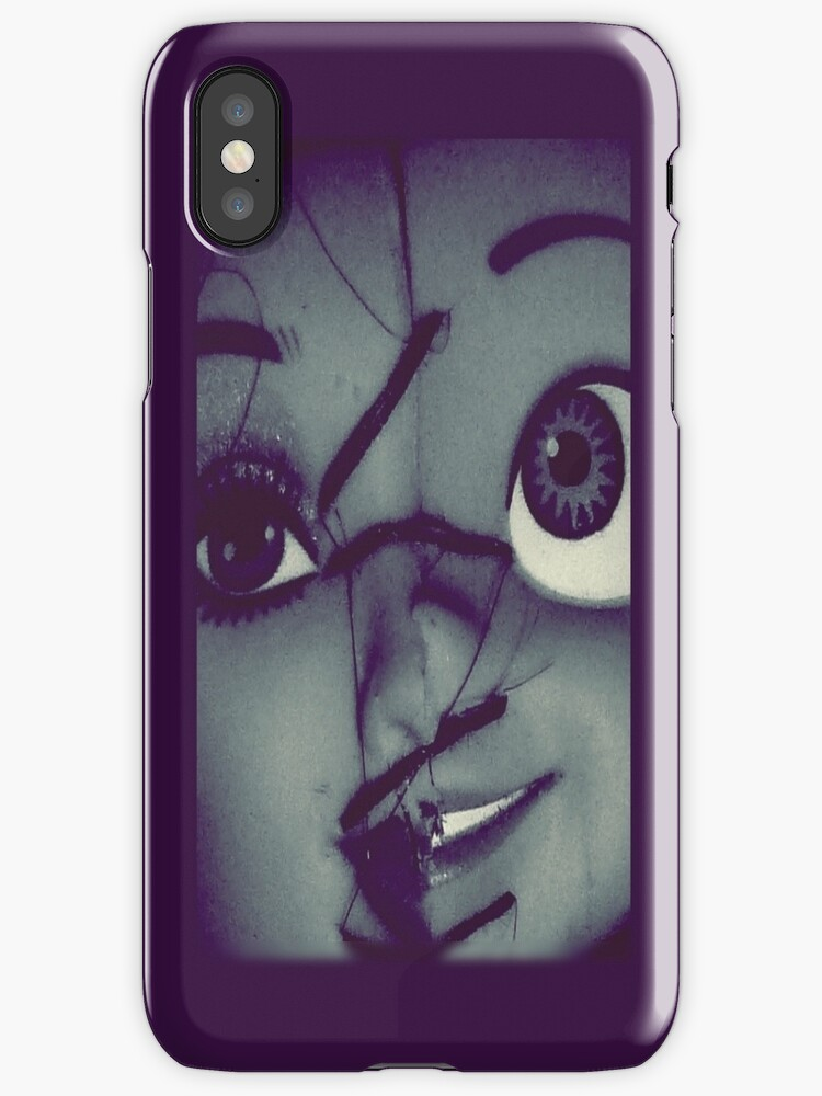 Miss 2Face Up Close iphone by Margaret Bryant