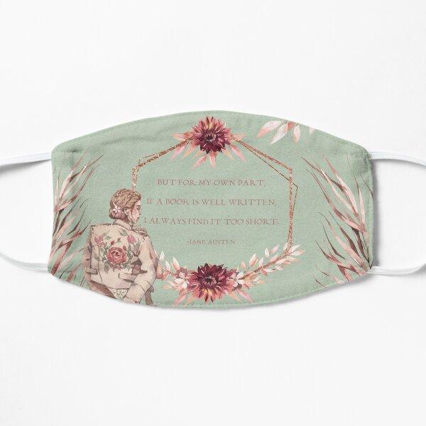 Jane Austen Flat Mask