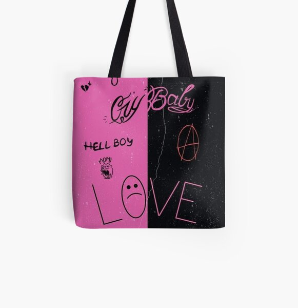 Lil Peep Tattoo Pack Compilation Design #1 All Over Print Tote Bag