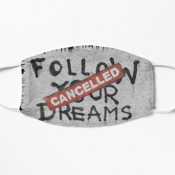 Banksy Follow Your Dreams Flat Mask