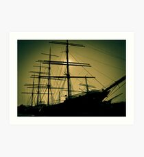 Peking Windjammer Art Print