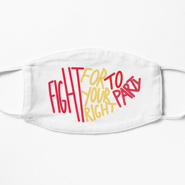 Chiefs Right to Party  Mask