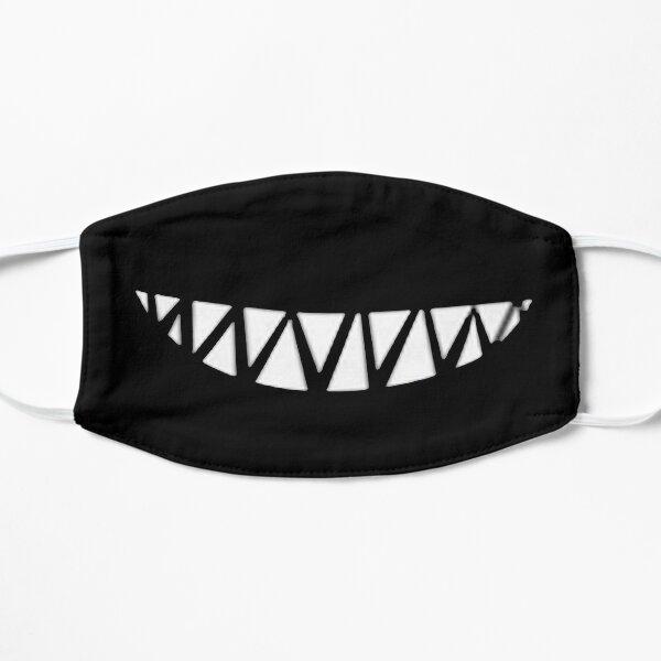 máscara de dientes de tiburón Mascarilla plana