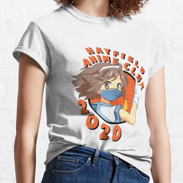 Hayfield Anime Club 2020 with a Face Mask Classic T-Shirt