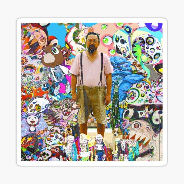 Takashi Murakami Sticker