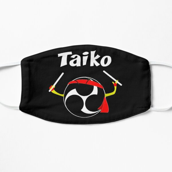 Taiko Mitsudomoe Taiko Ninja Drummer Flat Mask