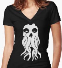 Misfit Cthulhu Women's Fitted V-Neck T-Shirt