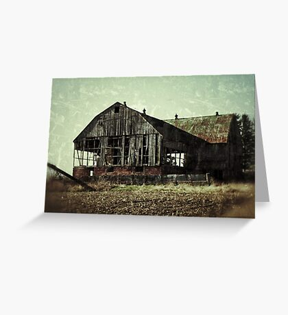 Abandonment Issues Greeting Card
