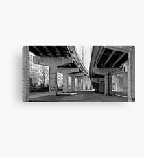 Under the Gardiner - Toronto Ontario Canvas Print