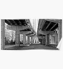 Under the Gardiner - Toronto Ontario Poster
