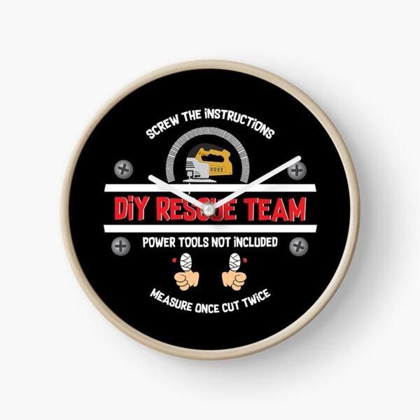 DIY Dad Geschenke - Lustiges DIY Shirt - Lustige DIY Geschenke - Fun DIY Becher - DIY Geburtstag - Zimmermann Uhr