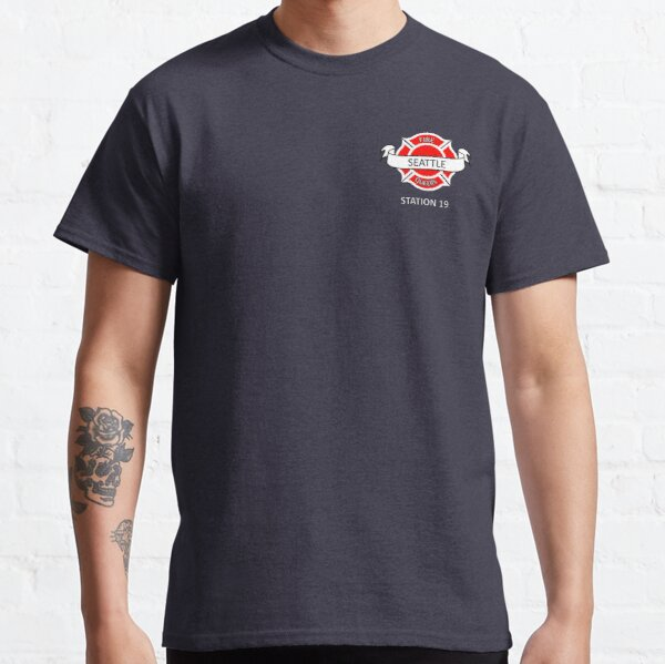 station 19 Seattle fire queers Classic T-Shirt