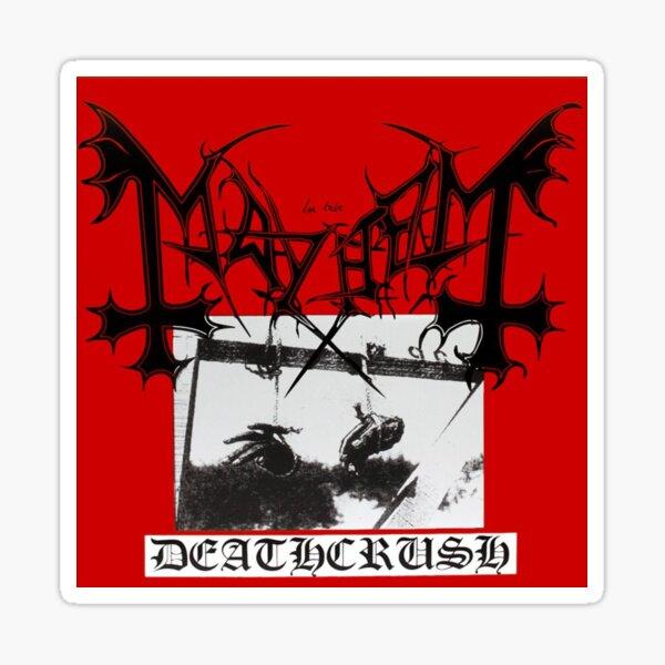 BEST SELLER - Mayhem Deathcrush Merchandise Sticker