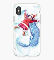 Snow Angels iPhone Case