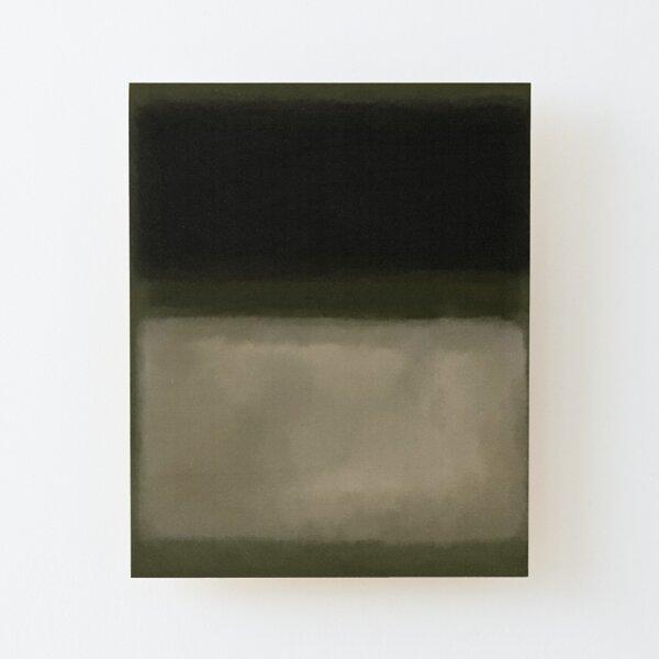 Rothko Inspired # 5 Lámina montada de madera