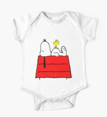 Snoopy chill out One Piece - Short Sleeve