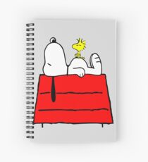 Snoopy chill out Spiral Notebook