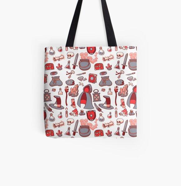 Magic Stuff Allover-Print Tote Bag