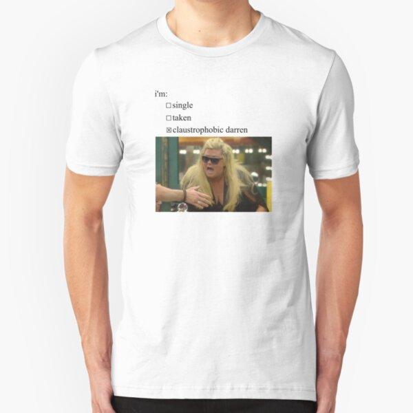 gemma collins is claustrophobic  Slim Fit T-Shirt
