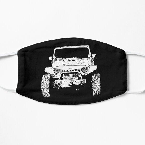 Jeep Stamp White Flat Mask