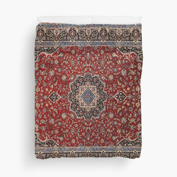Vintage Oriental Traditional Moroccan & Turkish Style Artwork Duvet Cover