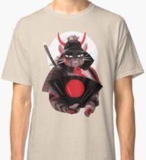 Samurai Cat Classic T-Shirt