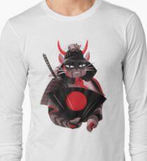 Samurai Cat Long Sleeve T-Shirt