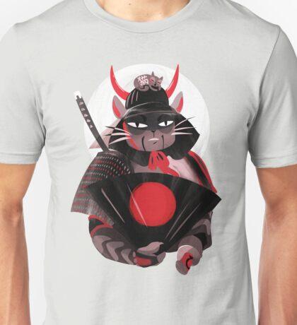 Samurai Cat Unisex T-Shirt