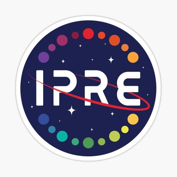 Institute of Planar Research and Exploration (IPRE) Sticker