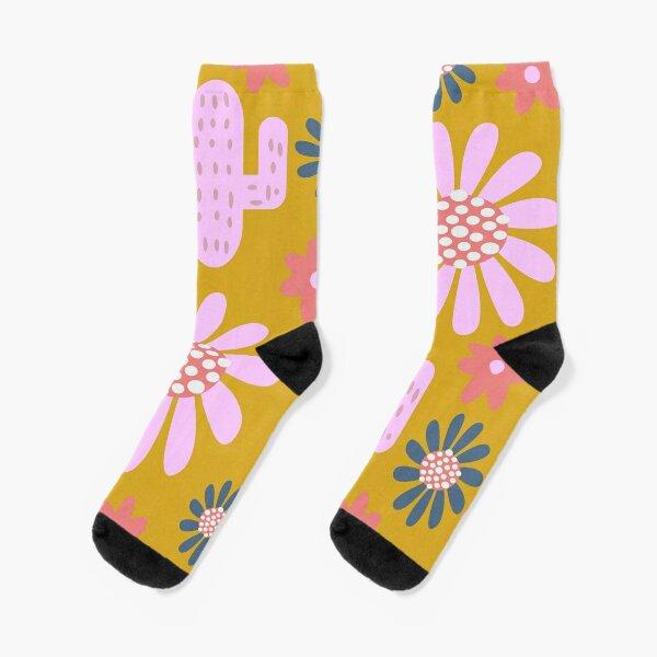 Nursery cactus decor Socks