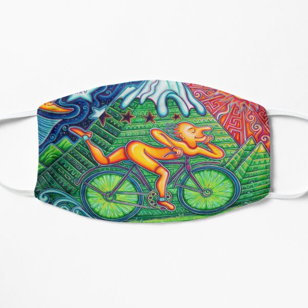 Bicycle Day  Flat Mask