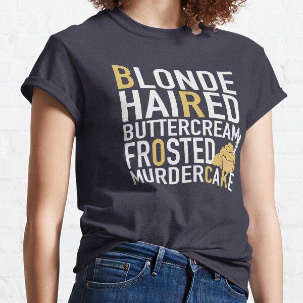 Buttercream Brock Frosted Murdercake Classic T-Shirt