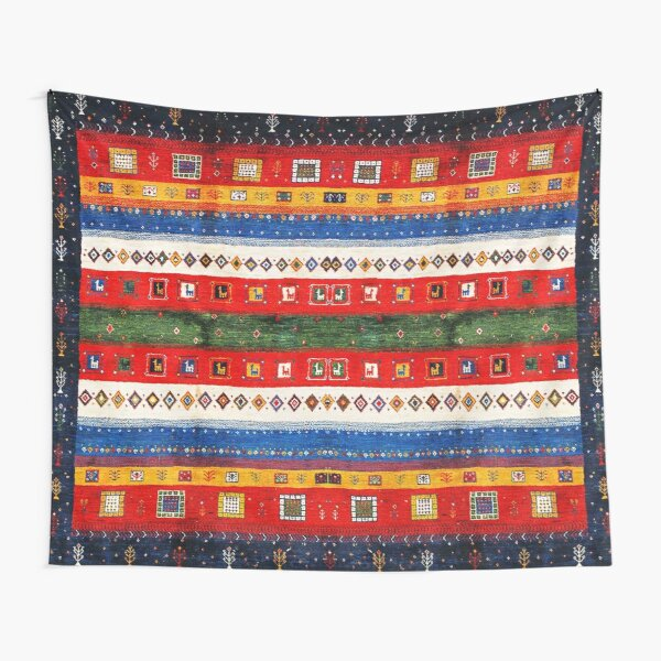 Colored Andalusian Traditional Moroccan Vintage Artwork Tapestry