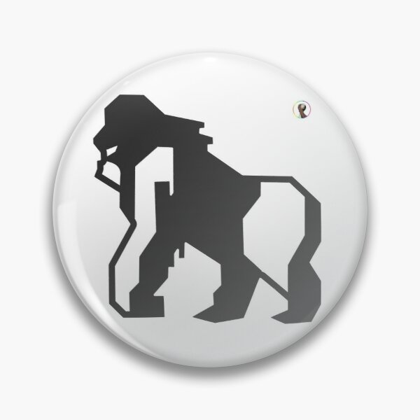 Gay Totem Animal Gayrilla Pin