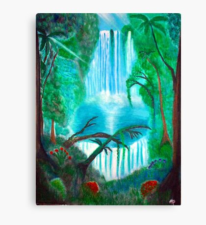 My Forest. . .In My World Canvas Print