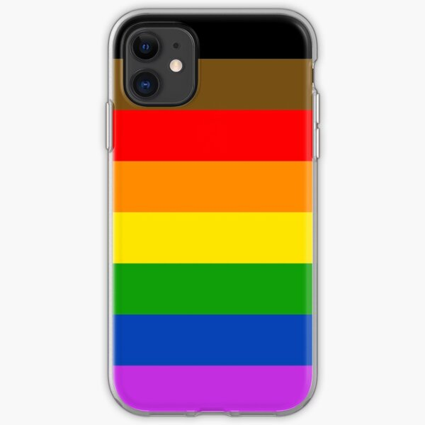 Philly Pride Flag iPhone Soft Case
