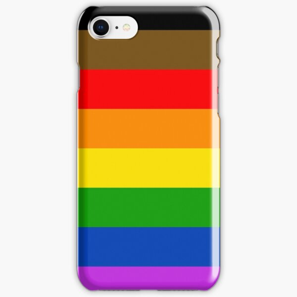 Philly Pride Flag iPhone Snap Case