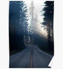 Smokey road Poster