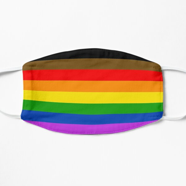 Philadelphia pride flag Mask