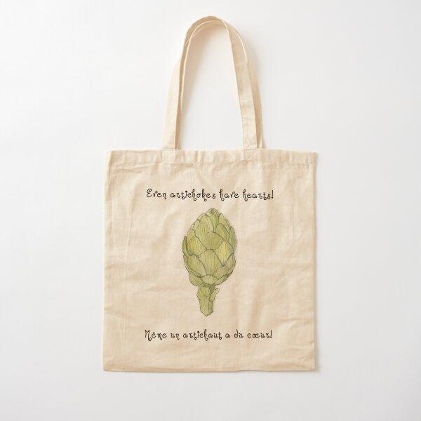 Even Artichokes Have Hearts - Amélie Cotton Tote Bag