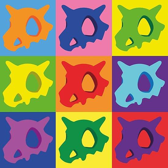 Pokemon - Cubone Pop Art by ConorMcCulloch