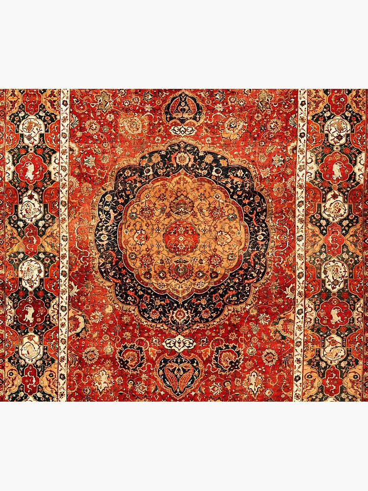 Seley Antique Persian Rug Print by bragova