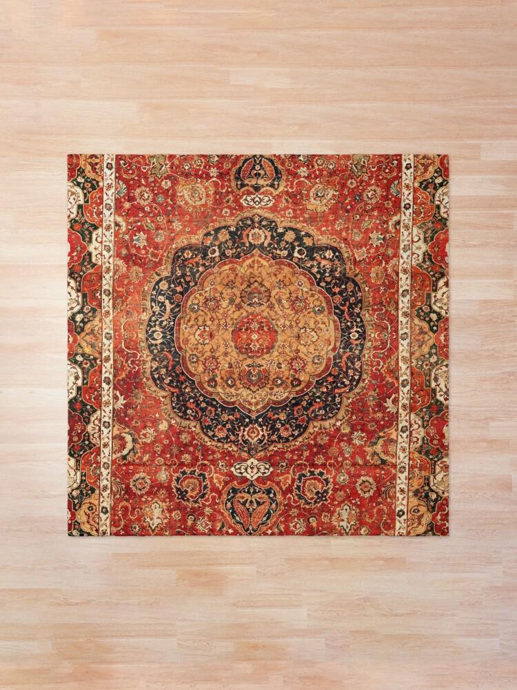 Alternate view of Seley Antique Persian Rug Print Comforter