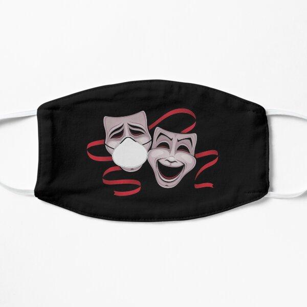 Theater Masks Flat Mask