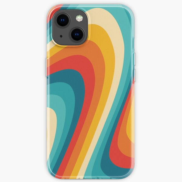 70s Retro Aesthetic iPhone Soft Case