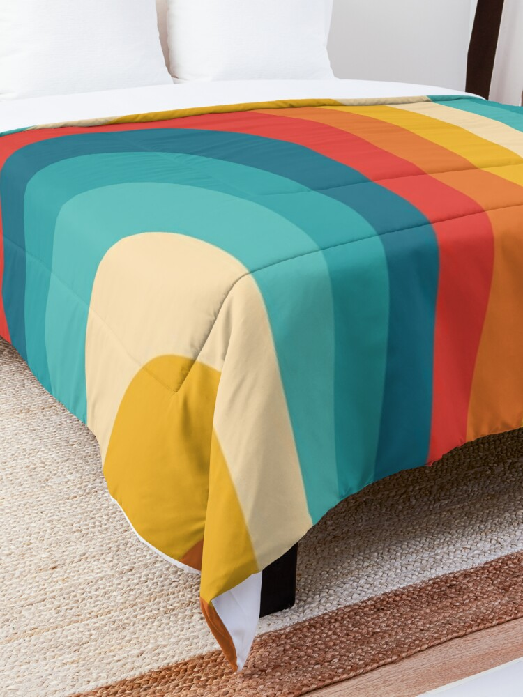 Alternate view of 70s Retro Aesthetic Comforter