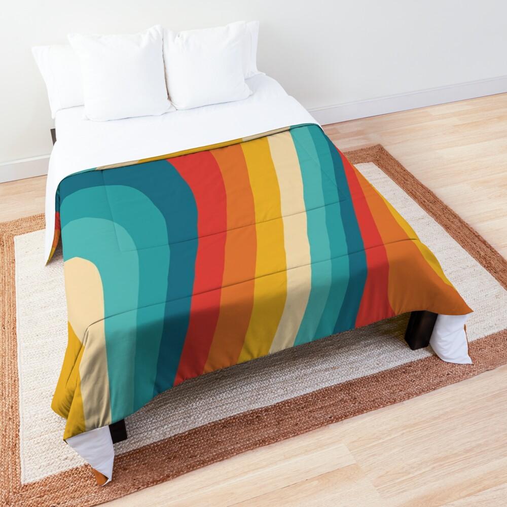 70s Retro Aesthetic Comforter
